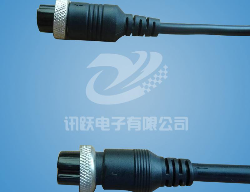 4pin 防水IP67接头线束