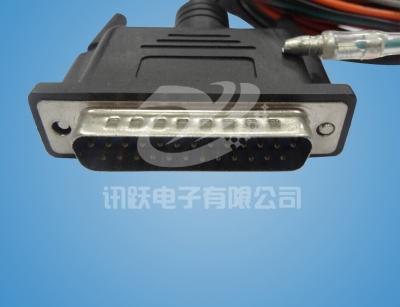 DB25-pin-成型公头线束