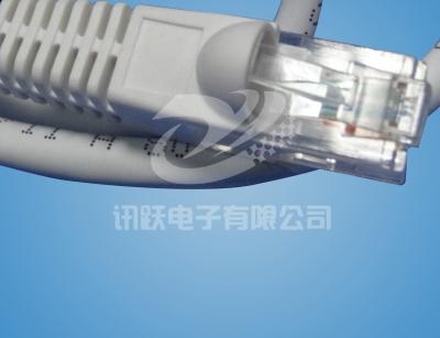上海网络防水8P8C水晶头线束